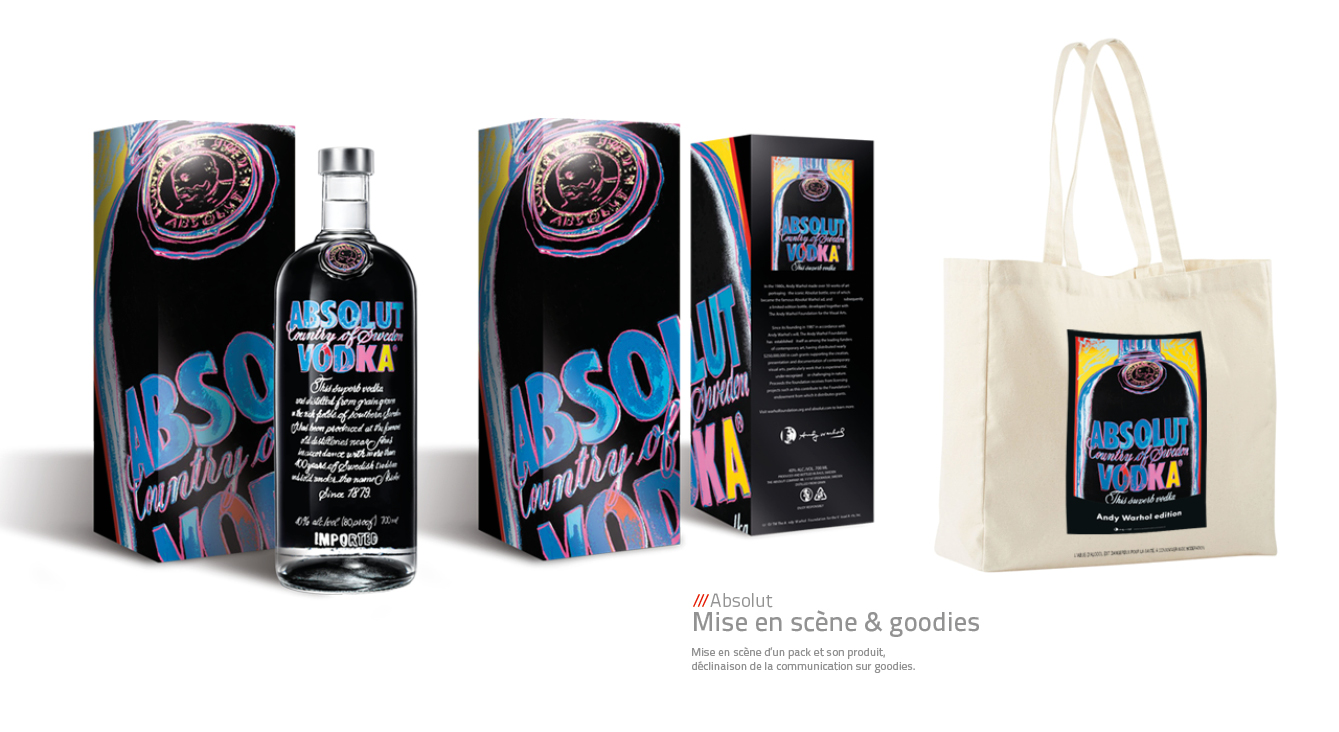 Absolut Vodka - Goodies