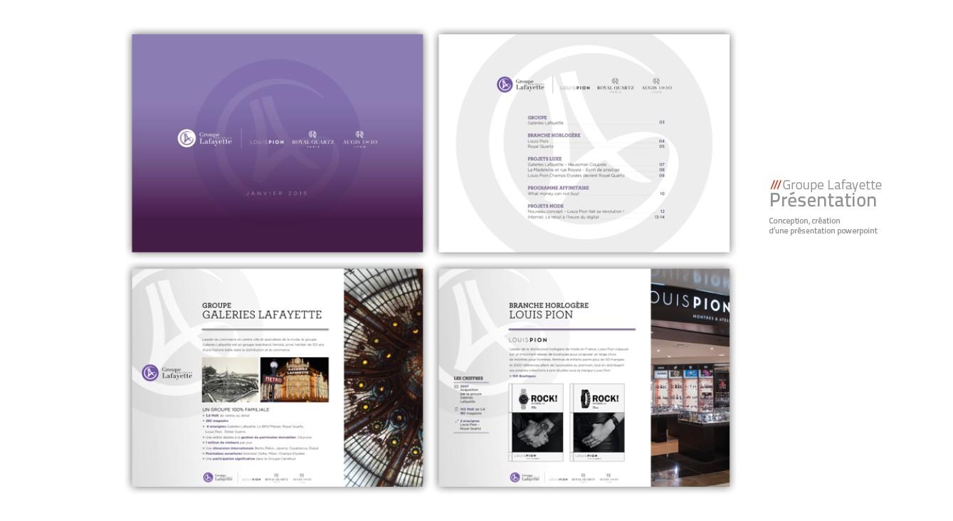 Galeries Lafayette - présentation
