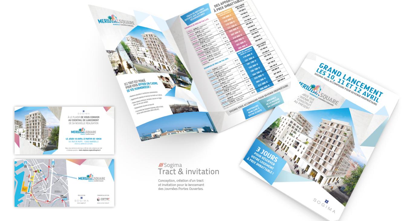 SOGIMA - Tract et invitations